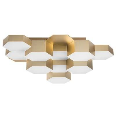 Люстра LED-60W Satin Gold (Lightstar, 750123) - Amppa.ru
